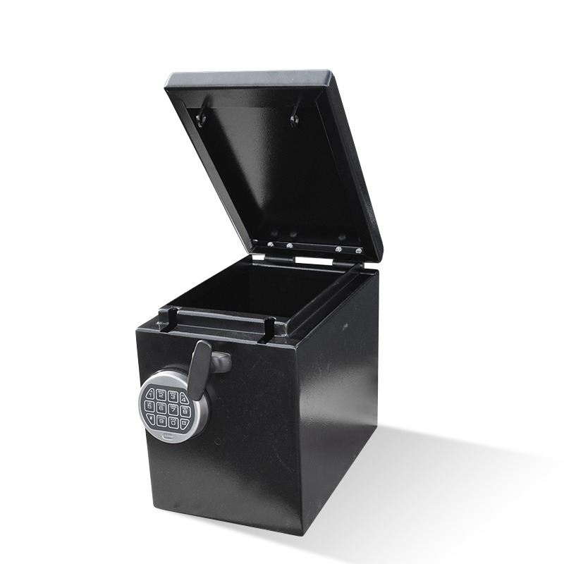9 in. x 14 in. Small Black Box Safe